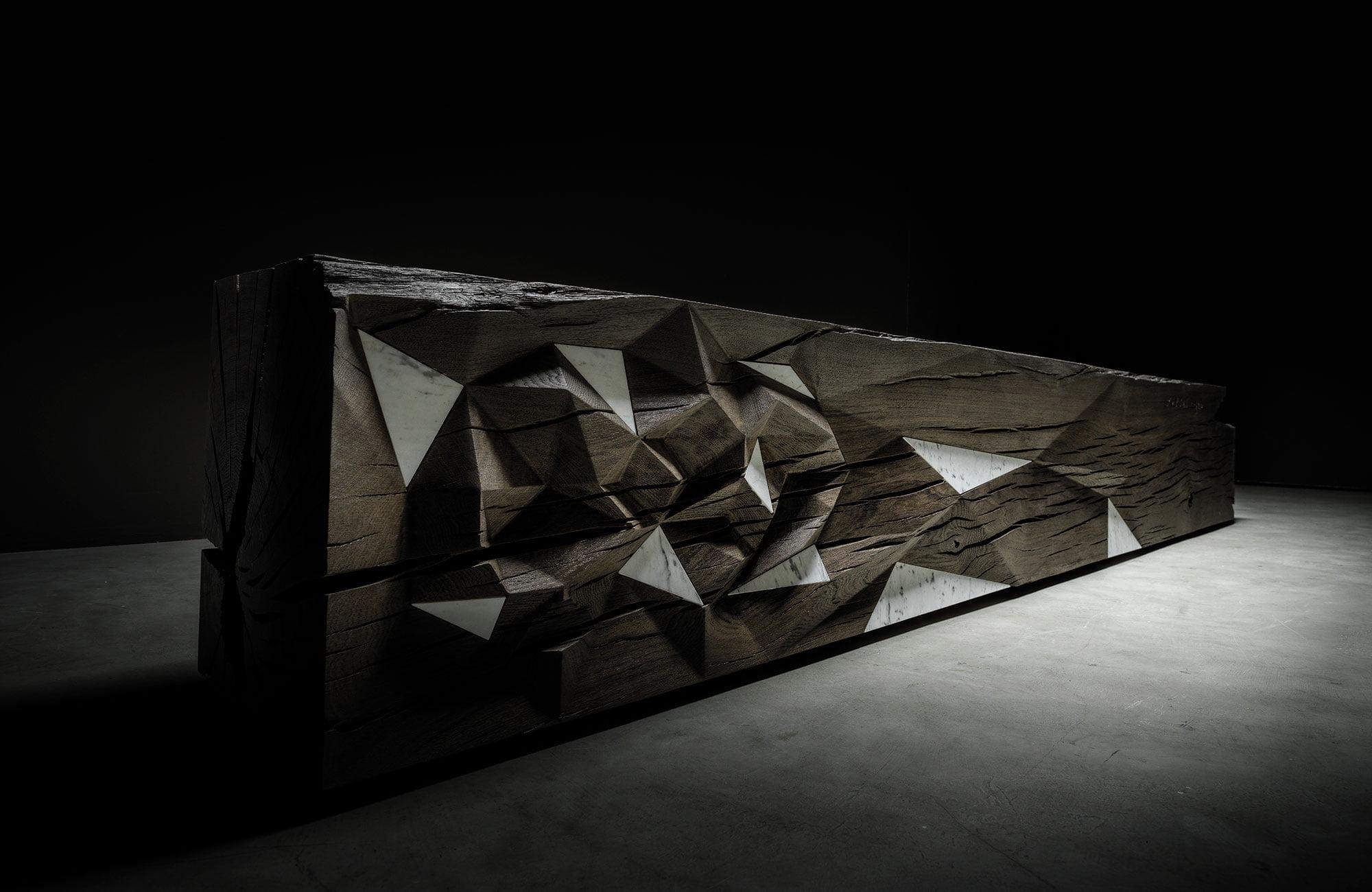 teúkhō tavolo parmenide